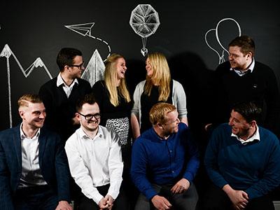 Our Business development sales team