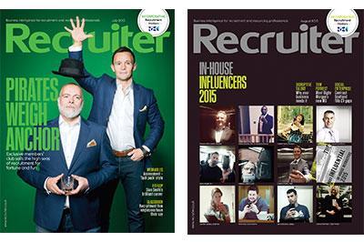 Redesign for Recruiter magazine