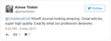 AImee Tinkler tweet