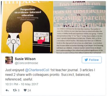 Susie Wilson tweet