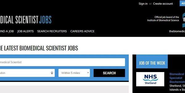 Biomedical Scientist – jobs board jfhkjas