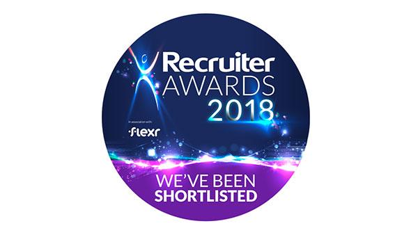 Recruiter Awards Shortlist Logo