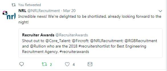 Shortlist Tweet - NRL